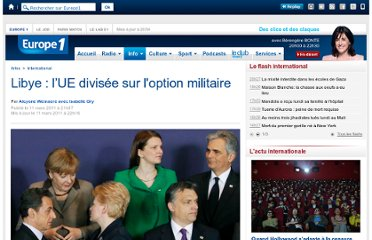 http://www.europe1.fr/International/Libye-l-UE-divisee-sur-l-option-militaire-450159/