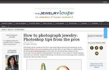 http://thejewelryloupe.com/how-to-photograph-jewelry-photoshop-tips-from-the-pros/