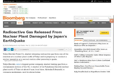 http://www.bloomberg.com/news/2011-03-12/tokyo-electric-starts-venting-reactor-gas-to-relieve-atomic-plant-pressure.html