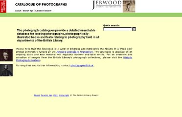 http://www.bl.uk/catalogues/photographs/