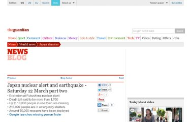 http://www.guardian.co.uk/world/2011/mar/12/japan-earthquake-tsunami-aftermath-live