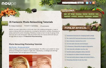 http://www.noupe.com/tutorial/35-fantastic-photo-retouching-tutorials.html