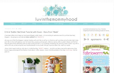 http://www.luvinthemommyhood.com/2010/05/crib-toddler-bed-sheet-tutorial-with.html