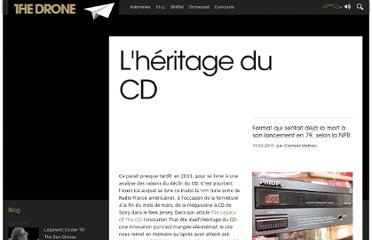 http://www.the-drone.com/magazine/lheritage-du-cd/