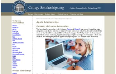http://www.collegescholarships.org/scholarships/companies/apple.htm