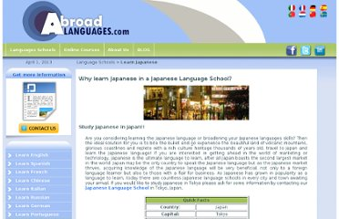 http://www.abroadlanguages.com/learn/japanese/