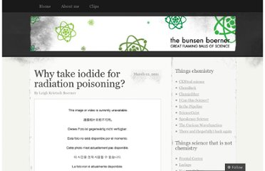 http://ljkboerner.wordpress.com/2011/03/12/why-give-iodide-for-radiation-poisoning/