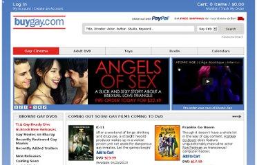 Buy Gay DVD, Gay Adult & Gay Porn DVD, Gay Book, Gay VOD | BuyGay.com