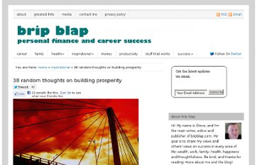 http://www.bripblap.com/38-random-thoughts-on-building-prosperity/