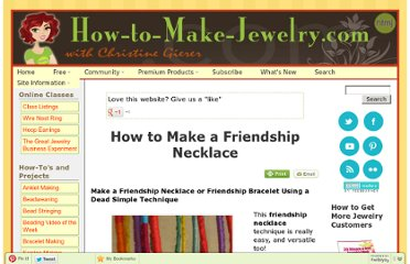 http://www.how-to-make-jewelry.com/friendship-necklace.html