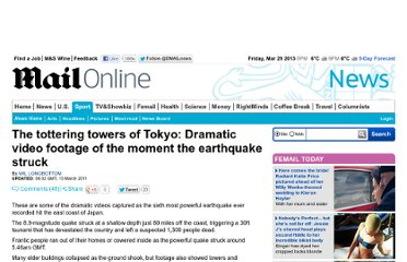 http://www.dailymail.co.uk/news/article-1365540/Japan-earthquake-tsunami-video-The-tottering-towers-Tokyo.html