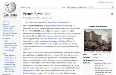 http://en.wikipedia.org/wiki/French_Revolution