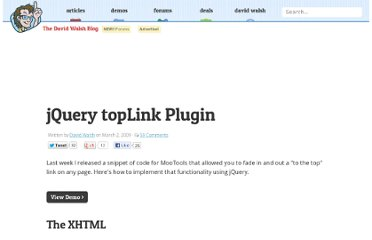 http://davidwalsh.name/jquery-top-link