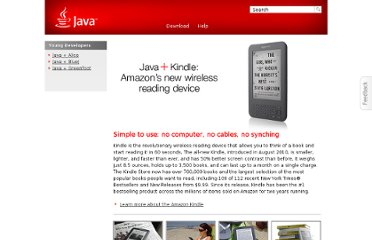 http://www.java.com/en/java_in_action/amazon_kindle.jsp