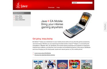 http://www.java.com/en/java_in_action/ea.jsp