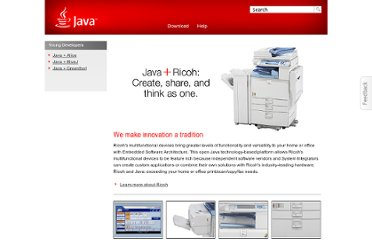 http://www.java.com/en/java_in_action/ricoh.jsp
