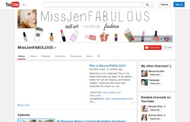 http://www.youtube.com/user/MissJenFABULOUS