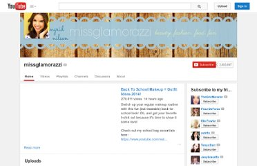 http://www.youtube.com/user/missglamorazzi