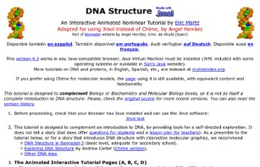 http://www.umass.edu/molvis/tutorials/dna/