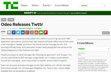 http://techcrunch.com/2006/07/15/is-twttr-interesting/