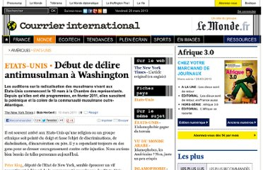 http://www.courrierinternational.com/article/2011/03/10/debut-de-delire-antimusulman-a-washington