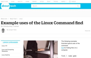 http://linux.about.com/od/commands/a/blcmdl1_findx.htm