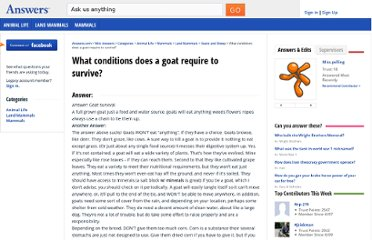 http://wiki.answers.com/Q/What_conditions_does_a_goat_require_to_survive
