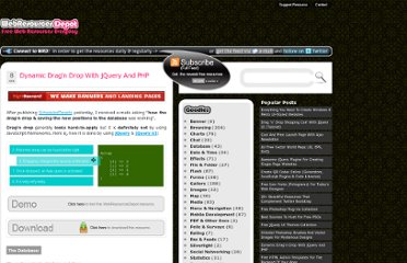 http://www.webresourcesdepot.com/dynamic-dragn-drop-with-jquery-and-php/