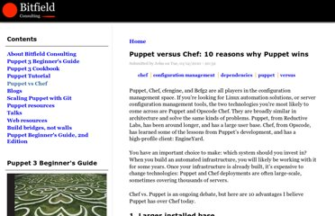 http://bitfieldconsulting.com/puppet-vs-chef
