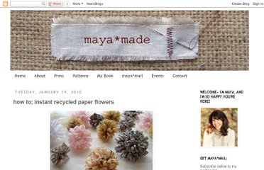 http://mayamade.blogspot.com/2010/01/how-to-instant-paper-flowers.html