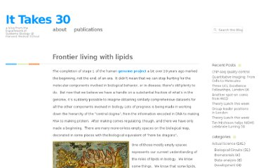 http://ittakes30.wordpress.com/2011/03/15/frontier-living-with-lipids/