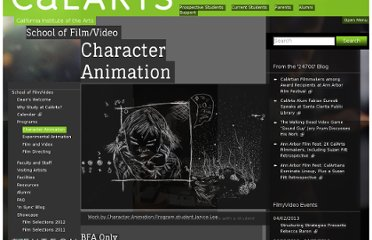 http://filmvideo.calarts.edu/programs/character-animation
