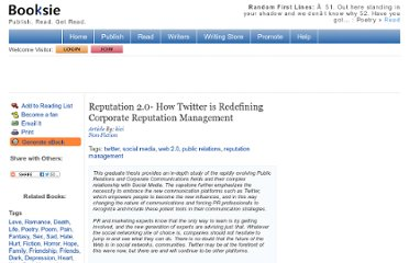 http://www.booksie.com/non-fiction/article/kici/reputation-20-how-twitter-is-redefining-corporate-reputation-management