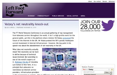 http://www.leftfootforward.org/2010/11/ed-vaizey-net-neutrality-knock-out/