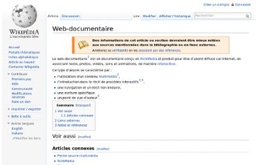 http://fr.wikipedia.org/wiki/Web-documentaire