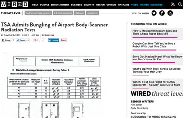 http://www.wired.com/threatlevel/2011/03/tsa-radiation-test-bungling/