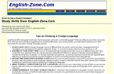 http://english-zone.com/study/langs.html