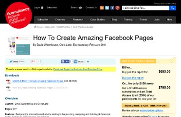 http://econsultancy.com/us/reports/how-to-create-amazing-facebook-pages