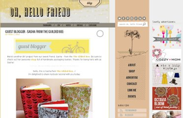 http://www.ohhellofriendblog.com/2010/10/guest-blogger-sasha-from-guilded-bee_03.html