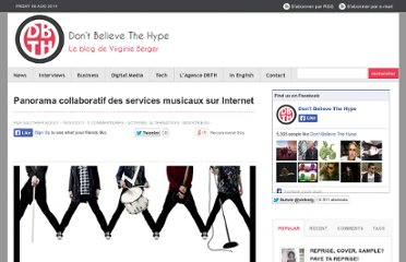 http://virginieberger.com/2011/03/panorama-collaboratif-des-services-musicaux-sur-internet/