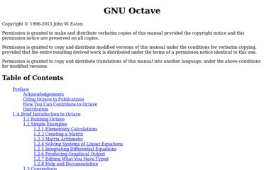 http://www.gnu.org/software/octave/doc/interpreter/