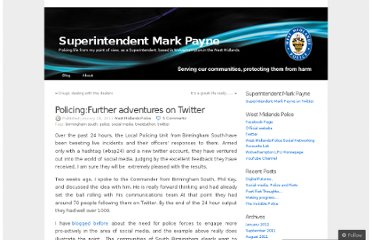 http://cimarkpayne.wordpress.com/2011/01/28/policingfurther-adventures-on-twitter/