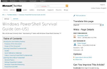 http://social.technet.microsoft.com/wiki/contents/articles/windows-powershell-survival-guide.aspx