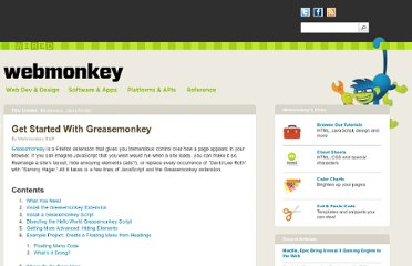 http://www.webmonkey.com/2010/02/get_started_with_greasemonkey/