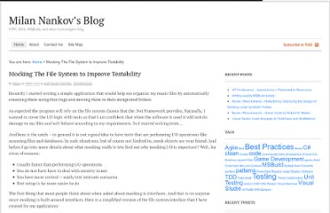 http://blog.nankov.com/2009/12/10/mocking-the-file-system-to-improve-testability/