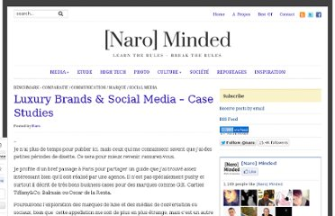 http://www.narominded.com/2011/03/luxury-brands-social-media-case-studies/