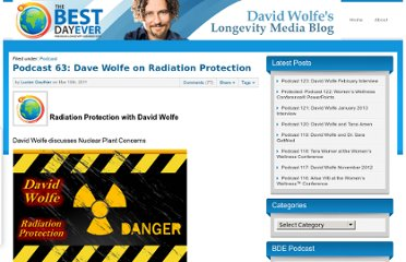 http://www.thebestdayever.com/news/podcast/podcast-63-dave-wolfe-on-radiation-protection/