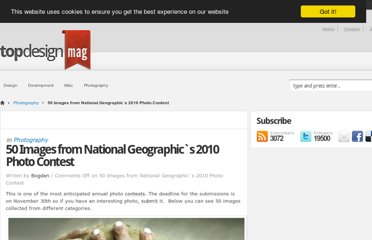 http://www.topdesignmag.com/50-images-from-national-geographics-2010-photo-contest/