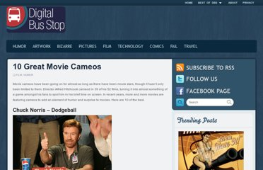 http://www.digitalbusstop.com/10-great-movie-cameos/