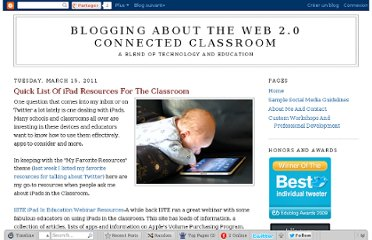 http://web20classroom.blogspot.com/2011/03/quick-list-of-ipad-resources-for.html